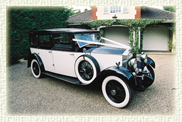 1931 Vintage Rolls Royce Limousine 'Windover' in Black and ivory