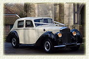 1952 Bentley 'R' type Sports in Ivory with Black running boards and Arches and cream leather interior
