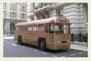 1953 London Transport AEC Regal 39 seater RF 504 (Regal Forward entrance) single deck Bus