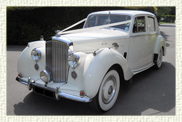 1953 Bentley 'R' type in Ivory with Chestnut Brown leather interior