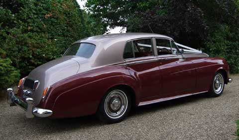 1957 Bentley S1 in Light and Dark Burgundy
