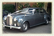 1959 Rolls Royce Silver Cloud Series II in Silver Grey with grey leather interior and blue carpets