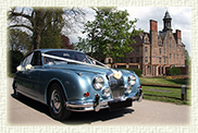 1965 Daimler V8 in Metallic Silver Blue