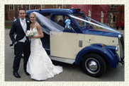 1966 Beardmore MK 7 Taxi in Blue and Ivory