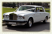 1970's Rolls Royce Silver Wraith in White with Cream leather interior (LWB long wheelbase model)