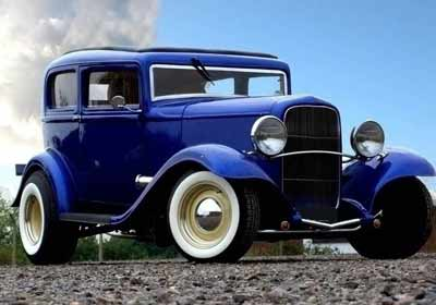 1929 Ford Model A 4dr Sedan HOT ROD