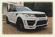 Latest shape Range Rover Sports Special Lumma addition (with panoramic sunroof)