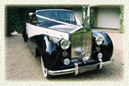 1952 Rolls Royce Silver Wraith in Black over Ivory