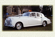 1956 Series 1 Bentley finished in Old English White with a Ruby leather interior