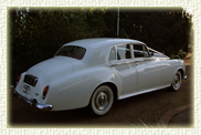 1963 Rolls Royce Silver Cloud III in White with White Walled Tyres