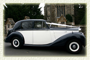 1951 MK Bentley VI in Black over Ivory