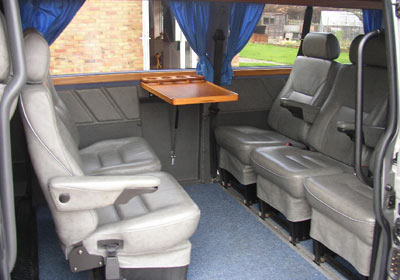 Luxury Silver Vw Caravelle
