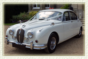 1968 MK II Jaguar in Old English White with Wire-Wheels