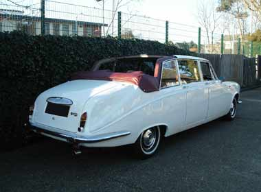White Landaulet (half-back convertible)