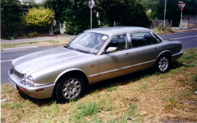 Silver Jaguar Sovereign