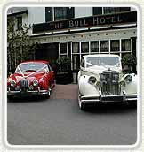 Car hire for a London wedding