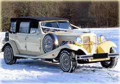WHITE GOLD WEDDING VEHICLE HIRE - CLICK HERE